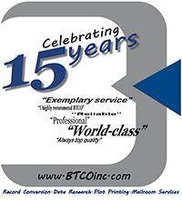 BTCO 15th Anniversary